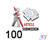 100 Article Submission